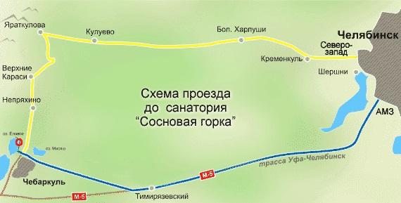 Схема проезда в 4апельсина
