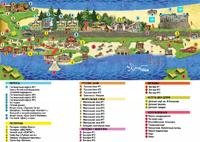 Схема проезда базы отдыха Золотой пляж