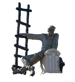 трубочист скульптуры на кировке