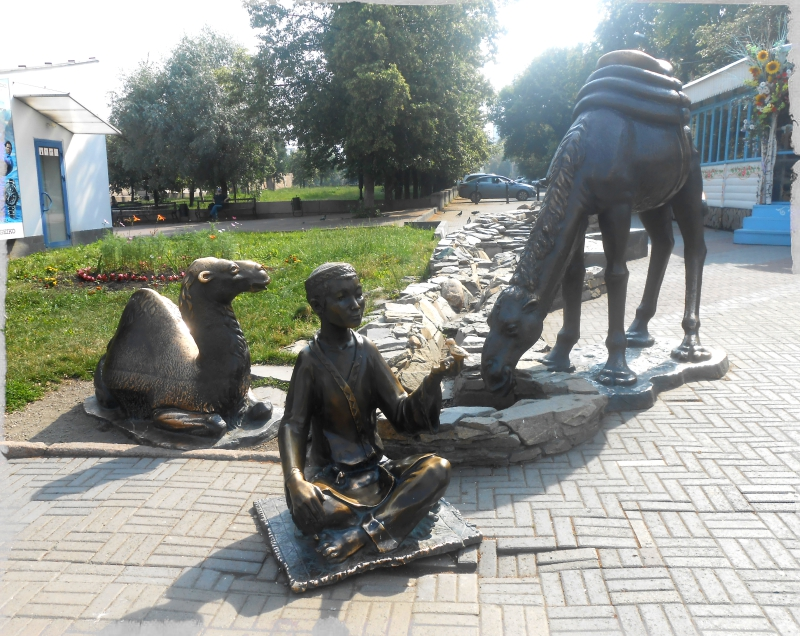 погонщик верблюдов скульптуры на кировке