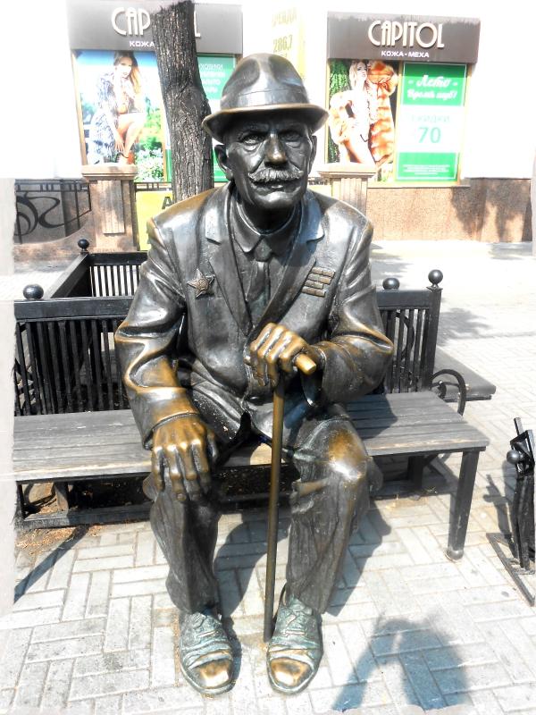 ветеран скульптуры на кировке