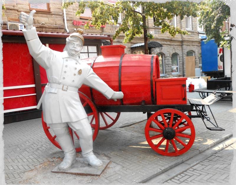 пожарный скульптуры на кировке