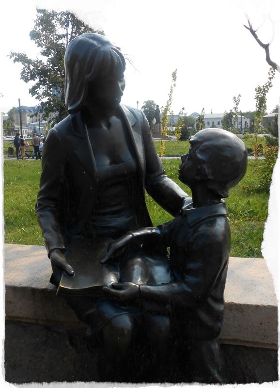 читатели скульптуры на кировке