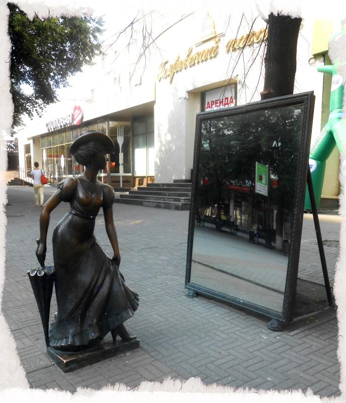 кокетка с зеркалом скульптуры на кировке